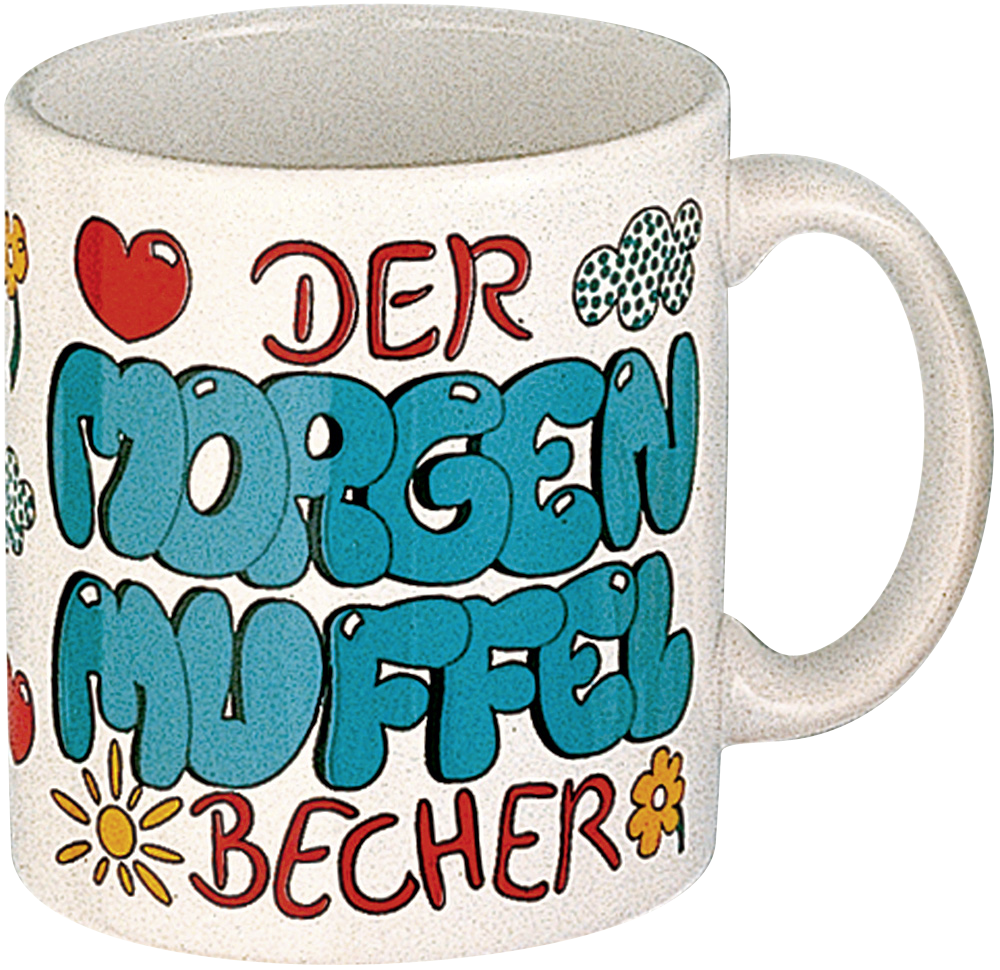 Henkelbecher 330 ml Morgenmuffel