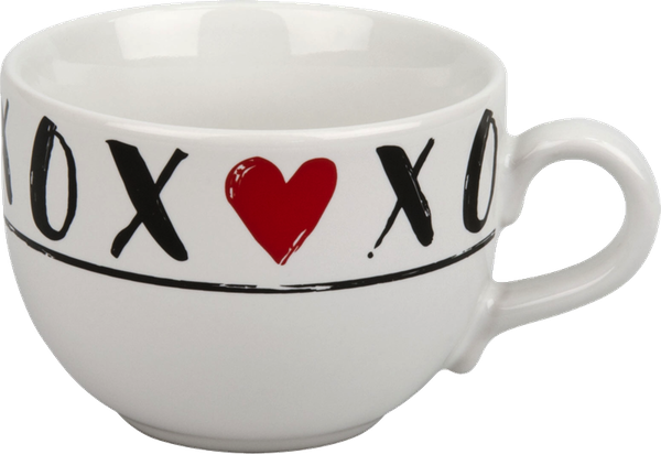 Jumbo-Tasse 500 ml Hugs and Kisses