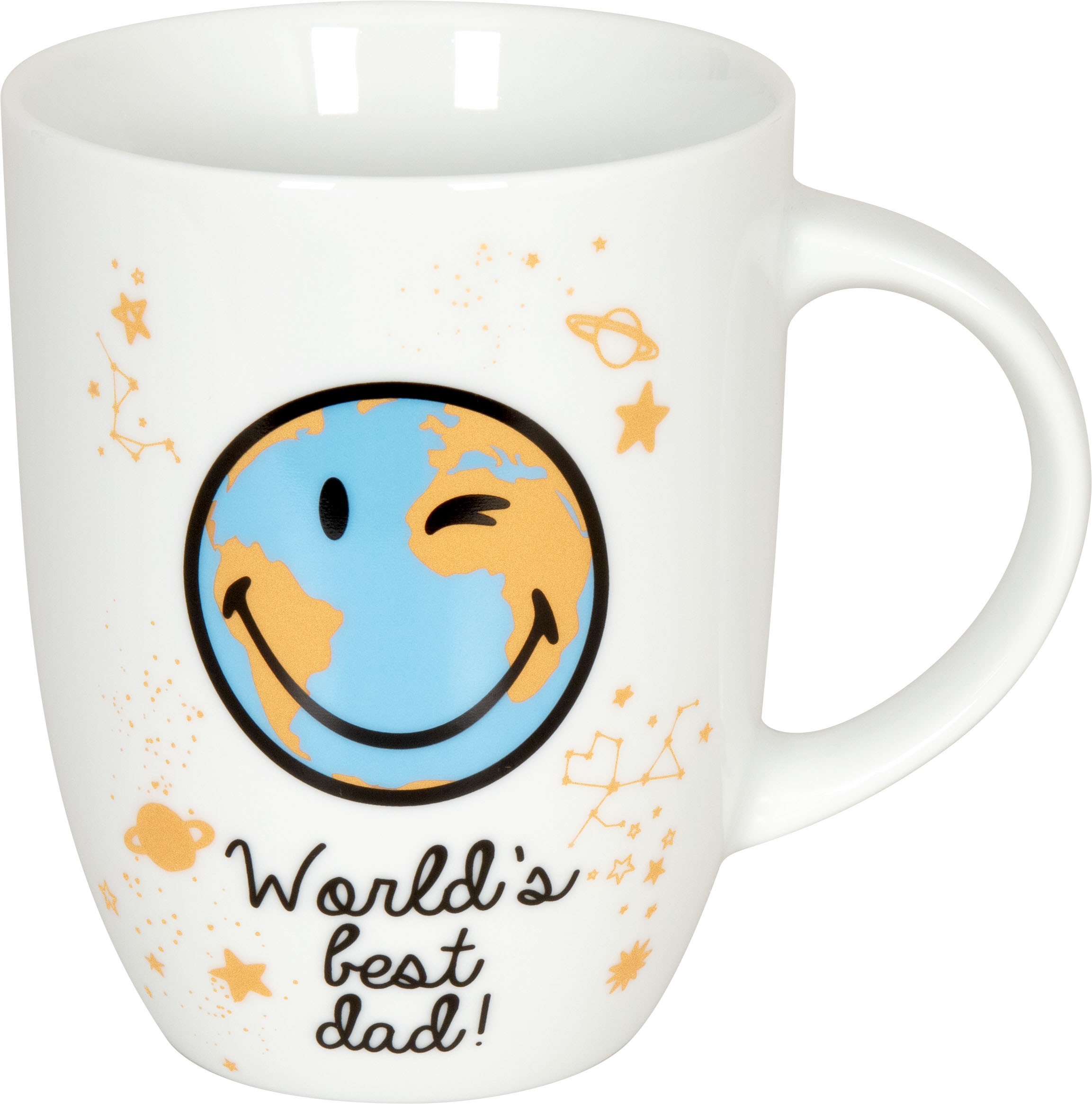 Becher Smiley World's best dad