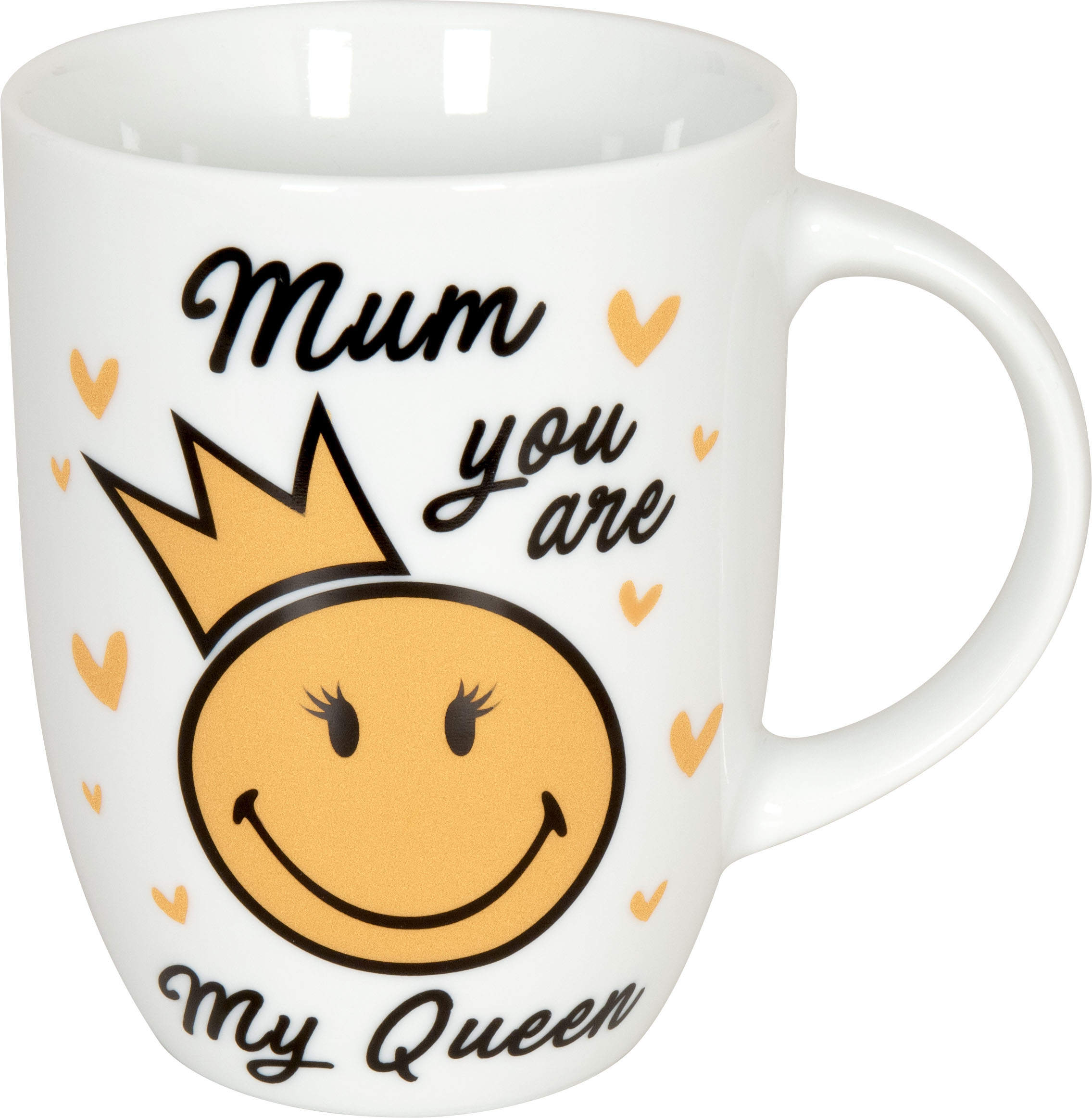 Becher Smiley Mum you are my queen