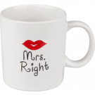 Henkelbecher 330 ml Mrs. Right