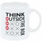 Henkelbecher 330 ml Think outside the box