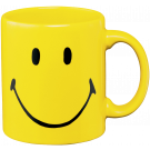 Smiley Henkelbecher 330 ml yellow