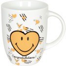 Becher Smiley Congratulation